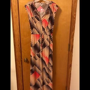 New Anne Klein Size Medium Sleeveless Maxi Dress